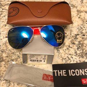 Rayban sunglasses 112/17 58mm blue